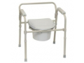 Image Of ProBasics 3-in-1 Folding Commode, 350 lb. Weight Capacity, REPLACES ZCH720102