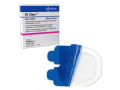 Image Of IV CLEAR Antimicrobial Clear Silicone Adhesive Securement Dressing, 10cm x 12cm