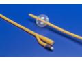 Image Of Foley Catheter Ultramer 2-Way Standard Tip 5 cc Balloon 14 Fr Hydrogel Coated Latex