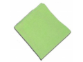 Image Of Cleaning Cloth O'Dell Medium Duty Green NonSterile Microfiber 16 X 16 Inch Reusable