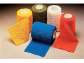 "Image Of Coban Self-adherent Wrap, 2 Each Of Red, Blue, Green, Yellow, White And Tan, 3"" X 5 Yard Roll"