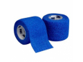 """Image Of 3M Coban Self-Adherent Wrap, Lightweight, Latex, Non-Sterile, 4"""" x 5 yds, Blue"""