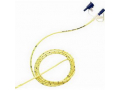Image Of CORFLO Ultra Lite Nasogastric Feeding Tube with Stylet 6 fr 22""