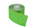 "Image Of Theraband Kinesiology Tape, Pre-cut Roll, Green/Yellow, 2"" x 16.4"""