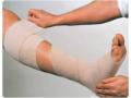 Image Of Compression Bandage Rosidal K 2 - 9/25 Inch X 5-1/2 Yard High Compression Clip Detached Closure Tan NonSterile