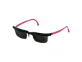 Image Of Sundials Black and Pink Frame with Tinted Lens