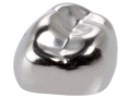 Image Of 3M ESPE Stainless Steel First Primary Molar Replacement Crown, Lower Right, Size D-LR-4, 5/box