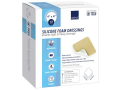 """Image Of Silicone Foam Dressing with Film Backing, 4"""" x 4"""""""