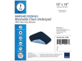"Image Of Abena Essentials Washable Chair Underpad, 18"" x 18"""