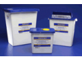 Image Of SharpSafety Pharmaceutical Waste Container, Counterbalance Lid, 3 Gallon