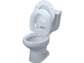 Image Of Tall-Ette Elevated Hinged Toilet Seat, Elongated