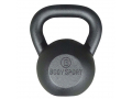 Image Of Body Sport Cast-Iron Kettlebell with Vinyl Coating 15 lbs.