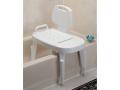 Image Of Bath Safe Adj Transfer Bench, Retail