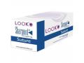 Image Of Look Suture 4/0 18 Silk Black C-6
