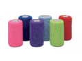 Image Of Cohesive Bandage CoFlexLF2 3 Inch X 5 Yard Standard Compression Self-adherent Closure Neon Pink / Blue / Purple / Light Blue / Neon Green / Red NonSterile