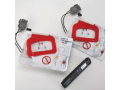 Image Of Charger Pack Lifepak CR Plus Charge-Pak With 2 Set Electrode Pad CR Plus Defibrillation