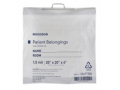 Image Of Patient Belongings Bag McKesson 4 X 20 X 20 Inch Polyethylene Snap Closure White