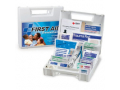 Image Of First Aid Kit White Plastic Case