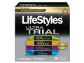 Image Of LifeStyles Ultra Latex Condom Trial Pack, 30 Count