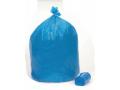 Image Of Trash Bag Recycling Extra Heavy Duty 15 gal Blue LLDPE 080 Mil 24 X 32 Inch X-Seal Bottom Twist Tie Coreless Roll