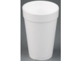 Image Of Drinking Cup Solo 20 oz White Styrofoam Disposable