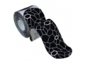 "Image Of Theraband Kinesiology Tape, Pre-cut Roll, Black/White, 2"" x 16.4"""