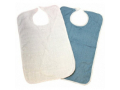 Image Of Bib Hook and Loop Closure Reusable Terry Cloth