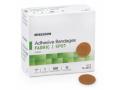 Image Of Adhesive Spot Bandage McKesson 1 Inch Diameter Fabric Round Tan Sterile