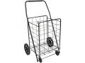 "Image Of Folding Shopping Cart, 15"" x 17"" x 36"""