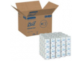 Image Of Toilet Tissue Scott White 2-Ply Standard Size Cored Roll 550 Sheets 4 X 41 Inch - EACH