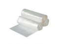 Image Of Trash Bag Colonial Bag Heavy Duty 40 - 45 gal Clear LLDPE 065 Mil 40 X 46 Inch X-Seal Bottom Twist Tie Coreless Roll