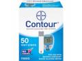 Image Of Blood Glucose Test Strips Contour 50 Test Strips per Box