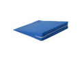 """Image Of Foam Slant Wedge, 24"""" x 24"""" x 4"""", with Blue Cover"""