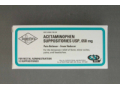 Image Of Pain Relief 650 mg Strength Acetaminophen Suppository 12 per Box