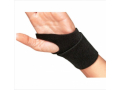 Image Of Wrist Support Cinch-Lock Foam / Aluminum Black One Size Fits Most