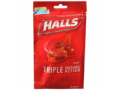 Image Of Cold and Cough Relief Halls 7 mg Strength Lozenge 30 per Bag