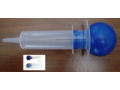 Image Of Irrigation Bulb Syringe AMSure 60 mL Disposable Sterile Poly Pouch Plastic