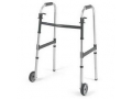 "Image Of Dual-Release Adult Paddle Walker with 5"" Fixed Wheel"