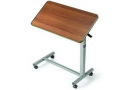 """Image Of Tilt-Top Overbed Table, 30"""" x 15"""" x 3/4"""", 25-3/4"""" to 39"""" Height Adjustment, 25 lb Weight Capacity"""