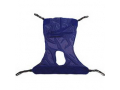 Image Of Reliant Full Body Sling with Commode Opening, X-Large, Blue, Mesh