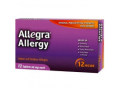 Image Of Allergy Relief Allegra 60 mg Strength Tablet 12 per Box