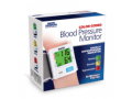 Image Of Color Coded Slim Wrist Blood Pressure Monitor