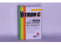 Image Of Iron Supplement Vitron-C 125 mg / 65 mg Strength Tablet 60 per Bottle