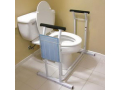 "Image Of Deluxe Safety Toilet Support, 29-1/2"" x 19"" x 26-1/4"""