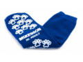 Image Of Slipper Socks McKesson Terries Adult X-Large Royal Blue Above the Ankle