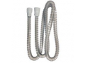 Image Of Slim Style CPAP Smoothbore Tubing with 22 mm Cuffs 6 ft. L, Gray