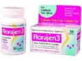 Image Of Probiotic Dietary Supplement Florajen3 30 per Bottle Capsule