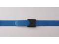 Image Of Gait Belt Premium EZ Clean* 60 Inch Blue Nylon