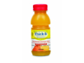 Image Of Thickened Beverage Thick-It AquaCareH2O 8 oz Bottle Orange Flavor Ready to Use Honey Consistency