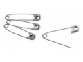 Image Of Safety Pin Number 3 Nickel Plated Steel